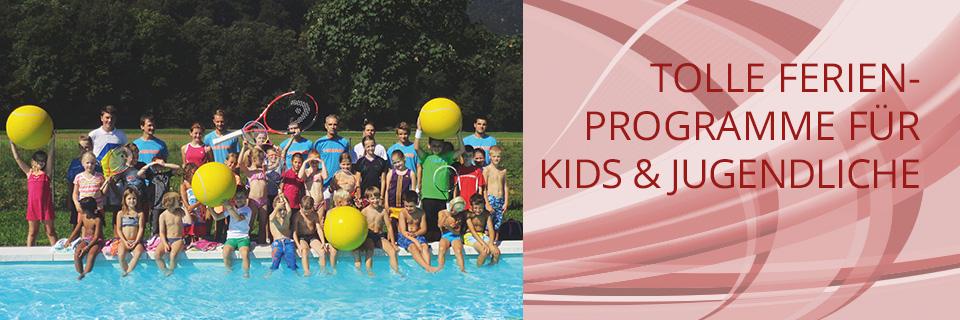 Ferienprogramme für Kids und Jugendliche
